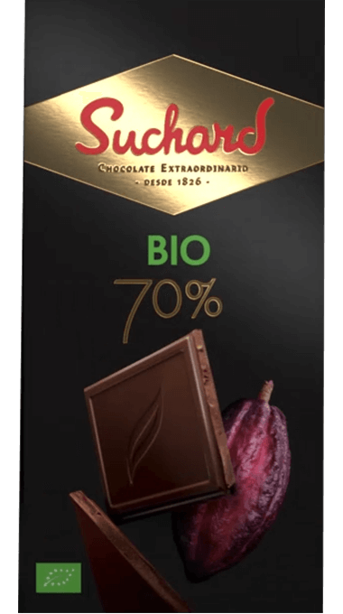 Suchard chocolate negro BIO 70% Cacao