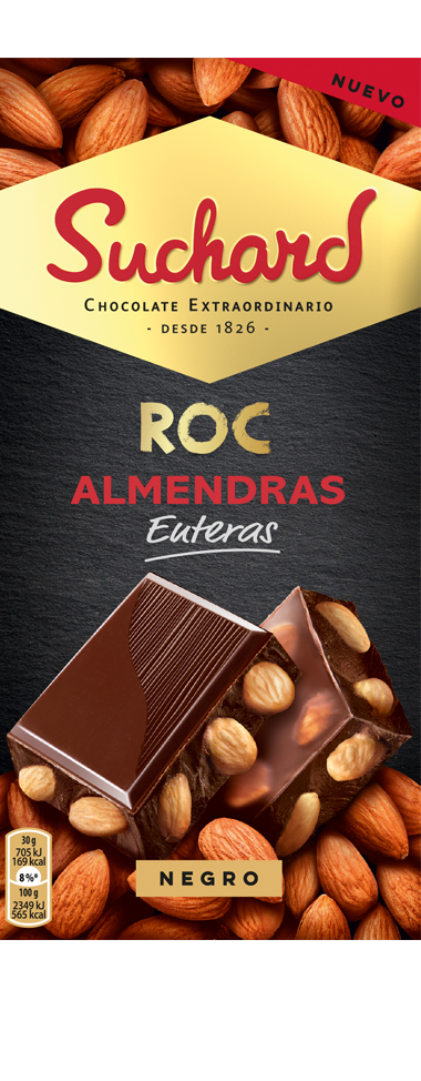 Chocolate Suchard ROC con Almendras enteras
